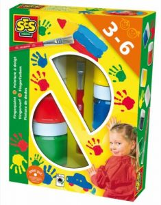 SES - Avenue des jeux - peinture pour les doigts