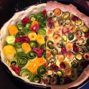 quiche courget'n'roll